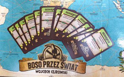 """Skojarzenia geograficzne w grze """"Boso przez świat"""""""